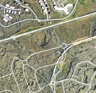 Rauðhólsnáman við Keflavíkurveginn