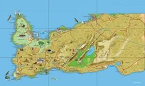 Reykjaneskort