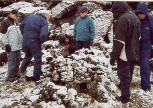 Refagildra ofan við Bása
