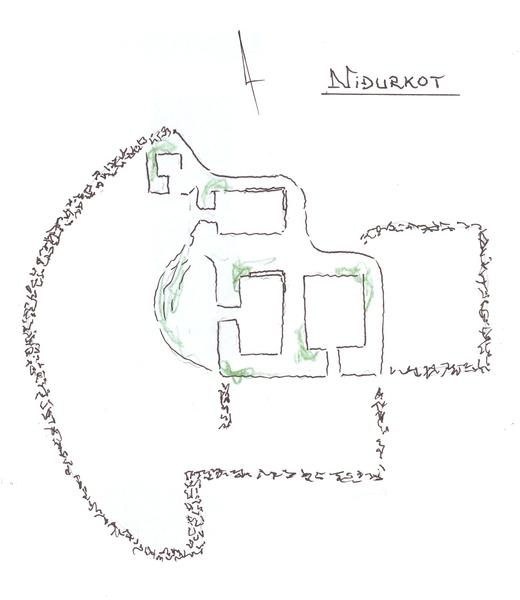 Uppdráttur af Niðurkoti