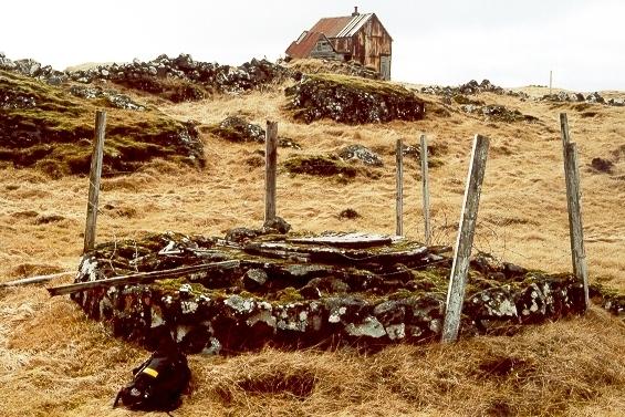 Brunnur við æskuheimili Magnúsar - Norðurkot