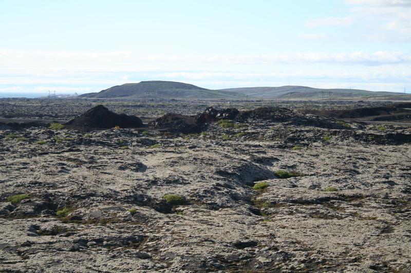 Óbrinnishólar nyrðri - nú eyðilagðir af námuvinnslu