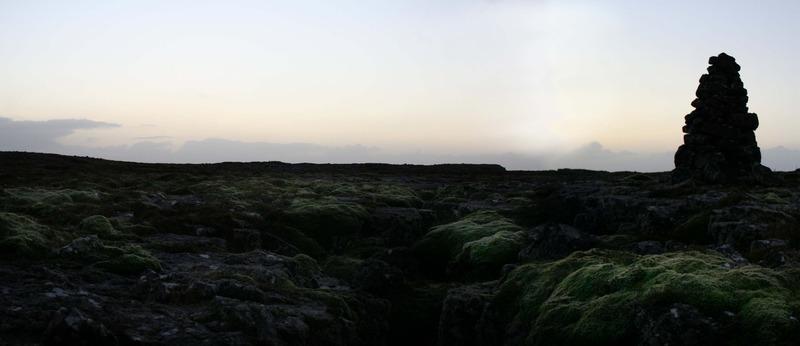 Ólafsvarða við Ólafsgjá - til minningar um atburðinn