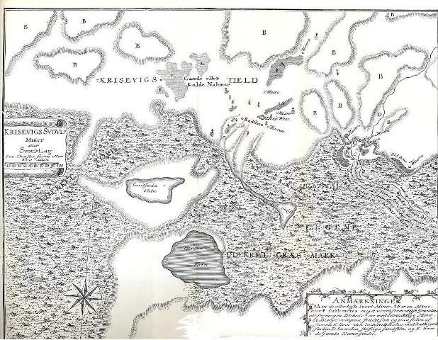 Uppdráttur Ólafs Olaviusar af Krýsuvíkurnámum