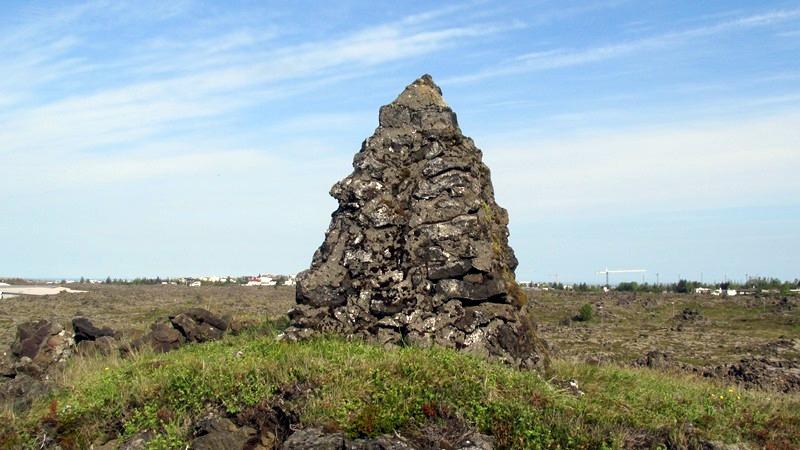 Miðaftanshóll - varða