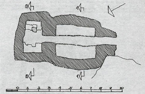 Selatangar - sjóbúð