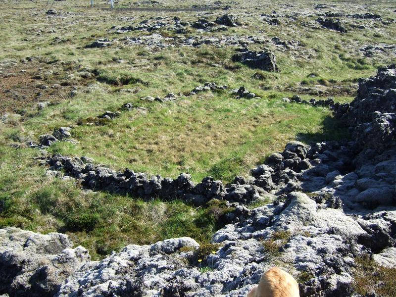 Gerði við Neðri-hellra - Seltóu