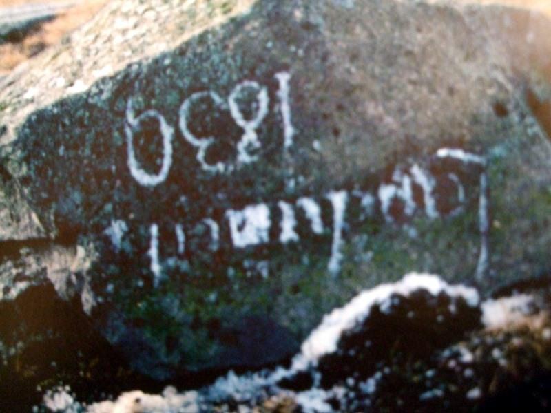 Landamerkjasteinn 1839 -3