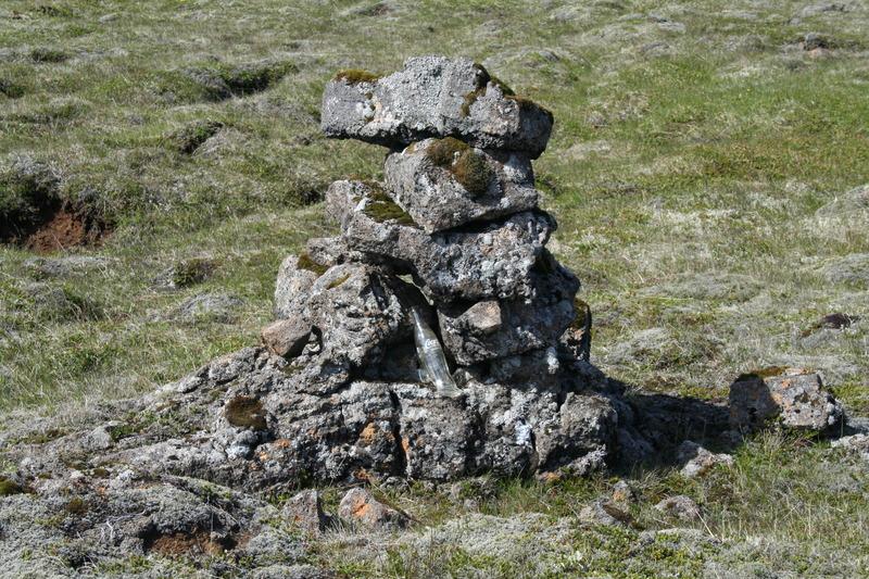 Varða við Stakkavíkurveg