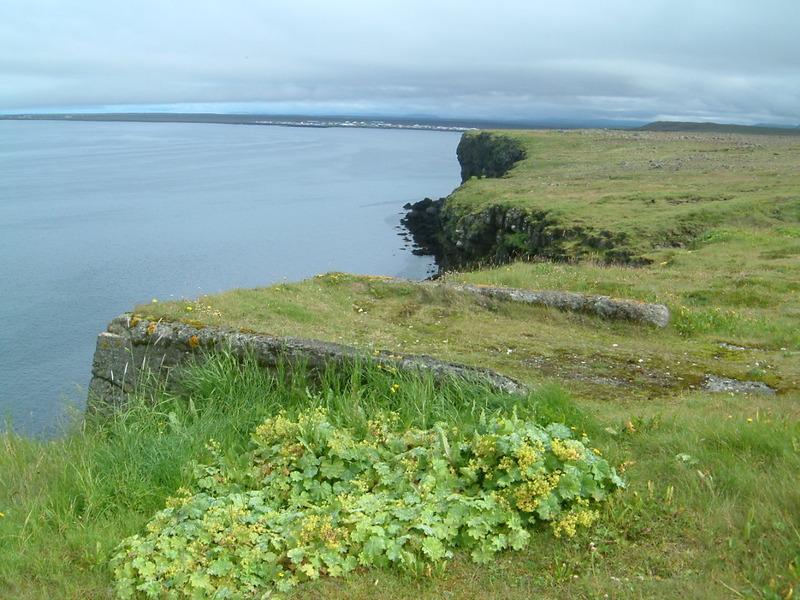 Vogastapi ofanverður - Vogar fjær
