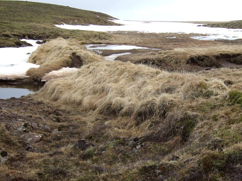 Stífla ofan Náttmálaskarðs