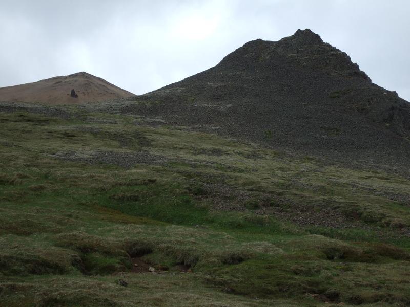 Hrútshornið á niðurleið