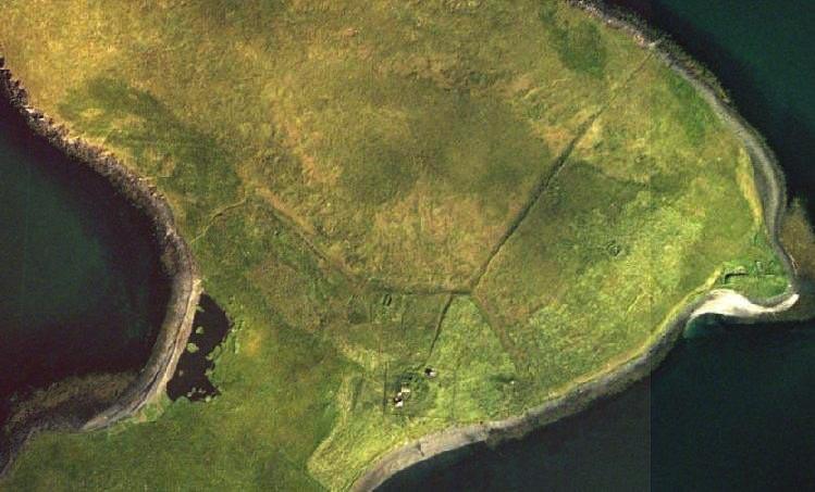 Þerney - loftmynd