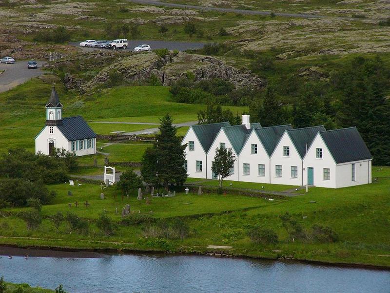 Þingvallabærinn í dag