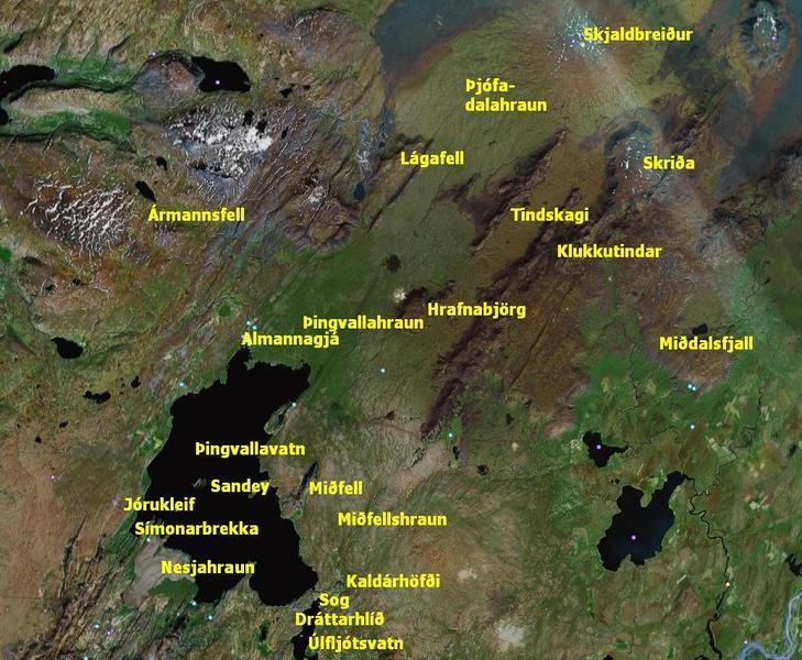 Þingvallasvæðið