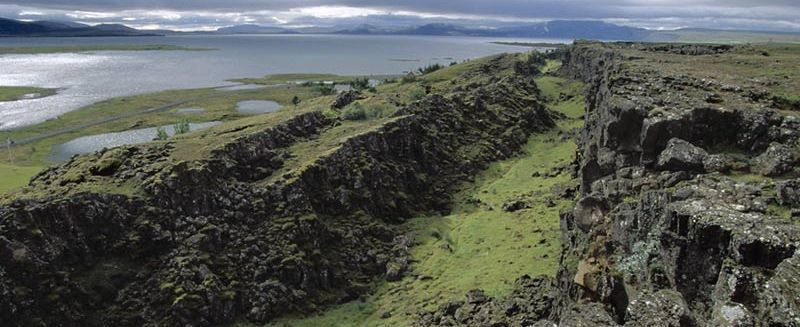 Thingvellir-gjar