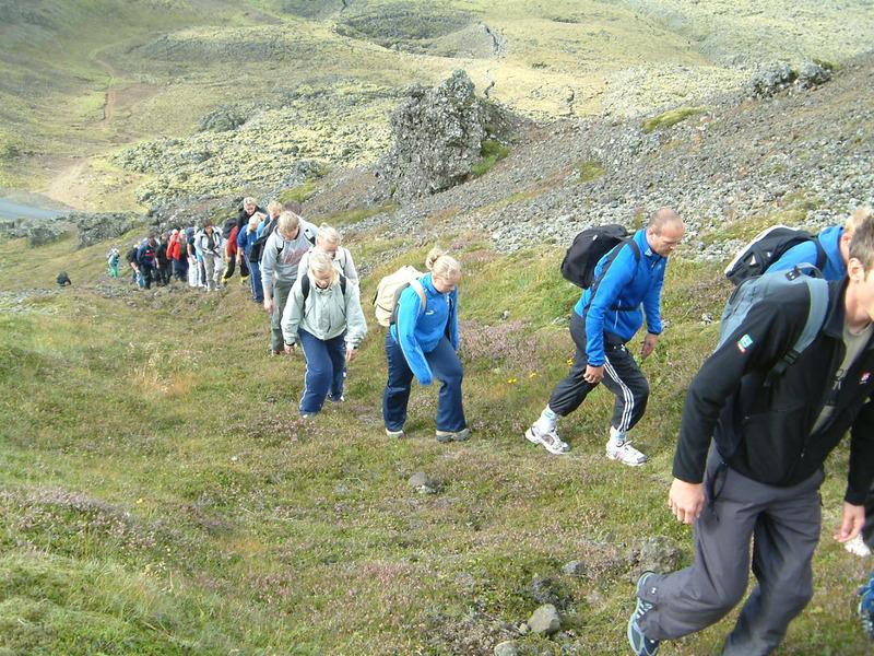 Á ferð um Þorbjarnarfell 2007