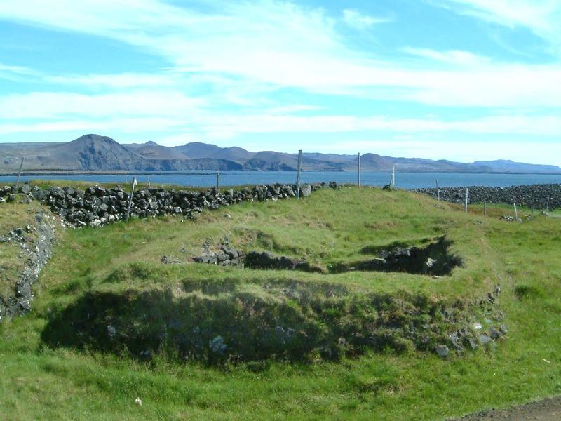 Ískofi á Þórkötlustaðanesi