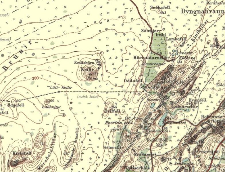 Reykjanesskagi-kort