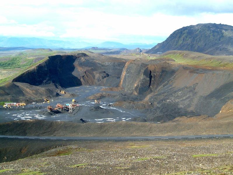 Náma í Undirhlíðum - við Bláfjallaveg