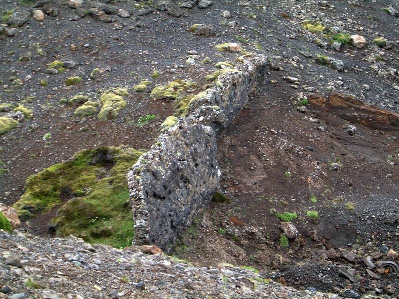 Berggangur í Vatnsskarði