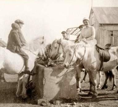 Vatnsþróin um 1920