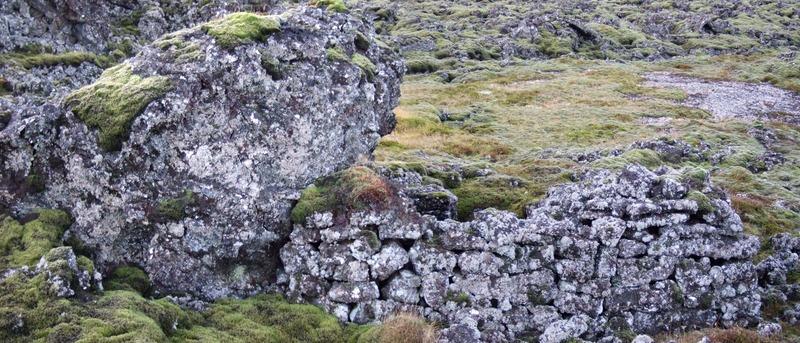 Gerði við vegavinnubúðirnar